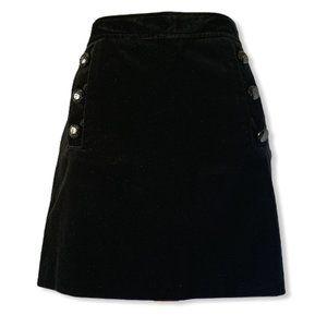 🆕 Banana Republic Velvet Mini Skirt